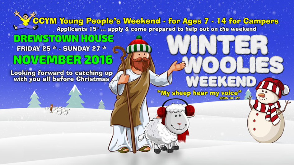 Winter Woolies Weekend